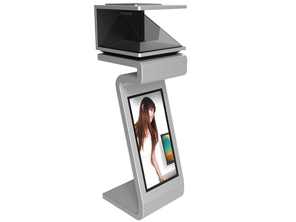 270degree showcase holographic 3d pyramid hologram MACHINE