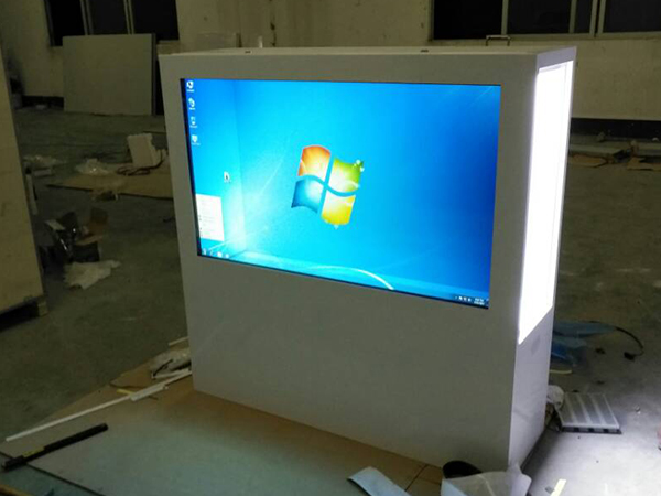 Transparent Cabinet with IR touch screen