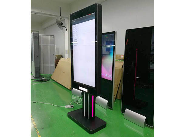 Safe Temperature Kiosk Thermal scanner face recognition access control terminal for security