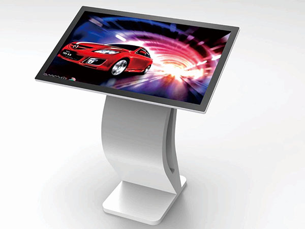 43inch horizontal touch screen kiosk
