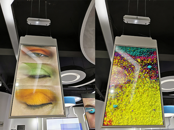 CEILING DESIGN ULTRA SLIM DIGITAL SIGNAGE 43INCH AND 55INCH