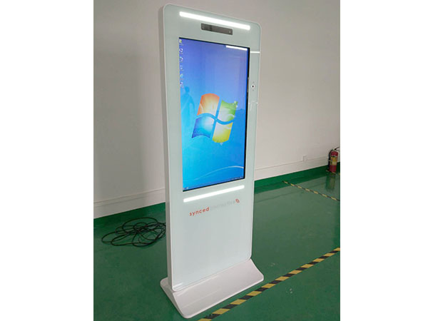 43inch PC touch screen kiosk with PC and motion sensor
