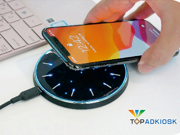 Wireless data transfer and wireless charger Pad